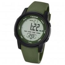 Calypso Herren-Armbanduhr Digital for Man digital Quarz PU grün UK5698/4