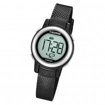 Calypso Kinder Armbanduhr Digital Crush K5736/3 Quarz-Uhr PU schwarz UK5736/3