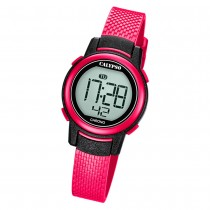 Calypso Kinder Armbanduhr Digital Crush K5736/5 Quarz-Uhr PU pink UK5736/5