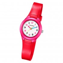Calypso Kinder Armbanduhr Sweet Time K5749/3 Quarz-Uhr PU rot UK5749/3