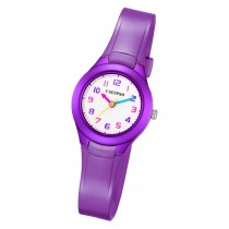 Calypso Kinder Armbanduhr Sweet Time K5749/4 Quarz-Uhr PU lila UK5749/4