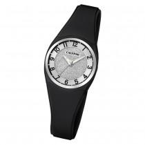 Calypso Damen Armbanduhr Trendy K5752/6 Quarzwerk-Uhr PU schwarz UK5752/6