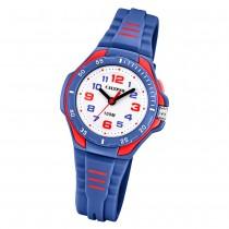 Calypso Kinder Armbanduhr Sweet Time K5757/5 Quarz-Uhr PU blau UK5757/5