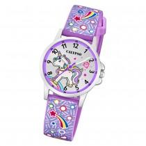 Calypso Kinder Armbanduhr Junior K5776/6 Quarzwerk-Uhr PU lila UK5776/6