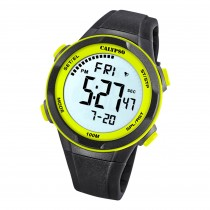 Calypso Herren Jugend Armbanduhr K5780/1 Digital Kunststoff schwarz UK5780/1