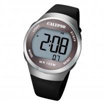 Calypso Herren Jugend Armbanduhr K5786/4 Digital Kunststoff schwarz UK5786/4