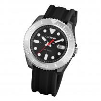 Calypso Herren Armbanduhr Outdoor K5794/3 Analog Kunststoff schwarz UK5794/3