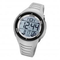 Calypso Herren Armbanduhr Outdoor K5807/1 Digital Kunststoff grau weiß UK5807/1