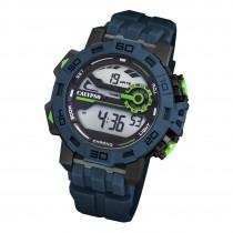 Calypso Herren Armbanduhr Outdoor K5809/2 Digital Kunststoff dunkelblau UK5809/2