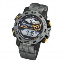Calypso Herren Armbanduhr Outdoor K5809/4 Digital Kunststoff grau UK5809/4