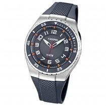 Calypso Herrenuhr grau, graues Armband Analog Uhren Kollektion UK6063/1