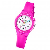 Calypso Kinder Armbanduhr Sweet Time K6069/1 Quarz-Uhr PU pink UK6069/1