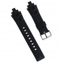 Calypso Herren Uhrenarmband 17mm Kautschuk-Band schwarz für Calypso K5595 UKA5595/S