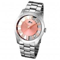 LOTUS Damen-Armbanduhr Minimalist Analog Quarz Edelstahl silber UL18122/1