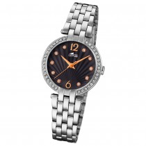 Lotus Damen-Armbanduhr Edelstahl silber 18379/2 Quarz Grace UL18379/2