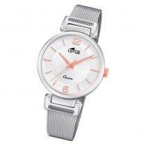 LOTUS Damen Armbanduhr Bliss 18646/1 Quarz Edelstahl silber UL18646/1