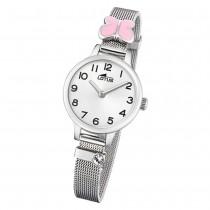 LOTUS Jugend Armbanduhr Junior 18660/2 Quarz Edelstahl silber UL18660/2