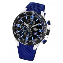 LOTUS Herren Armbanduhr Lotus R 18673/8 Quarz PU blau UL18673/8