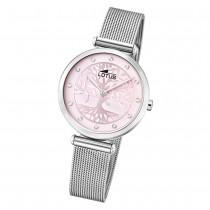 LOTUS Damen Armbanduhr Bliss 18708/2 Quarz Edelstahl silber UL18708/2