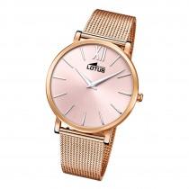 Lotus Damen Armbanduhr Smart Casual 18730/1 Analog Edelstahl rosegold UL18730/1