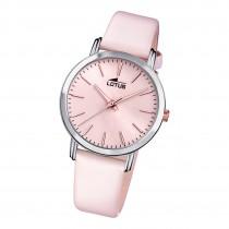 Lotus Damen Armbanduhr Trendy 18738/2 Analog Leder rosa UL18738/2