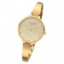 Regent Damen Armbanduhr Analog BA-560 Quarz-Uhr Edelstahl gold URBA560