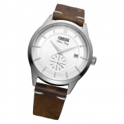 Fonderia Herren-Armbanduhr P-6A009US1 Quarz Leder-Armband braun UAP6A009US1