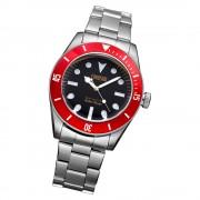 Fonderia Herren-Armbanduhr P-7A002UNR Quarz Edelstahl-Armband silber UAP7A002UNR