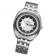 Fonderia Herren-Armbanduhr P-7A004US1 Quarz Edelstahl-Armband silber UAP7A004US1
