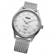 Fonderia Herren-Armbanduhr P-8A010US1 Quarz Edelstahl-Armband silber UAP8A010US1