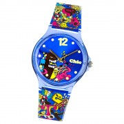 Chic-Watches Damenuhr Comic-Style Armbanduhr Chic Lady-Uhren UC007