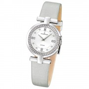 CANDINO Damen-Uhr - Elegance Flair - Analog - Quarz - Leder/Textil - UC4560/1