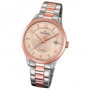Candino Herren-Uhr Edelstahl silber roségold C4609/2 Quarz Klassisch UC4609/2