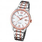 Candino Herren-Uhr Edelstahl silber roségold C4616/2 Quarz Klassisch UC4616/2
