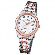 Candino Damen-Armbanduhr Edelstahl silber braun C4617/1 Quarz Klassisch UC4617/1