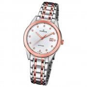 Candino Damen-Armbanduhr Edelstahl silber braun C4617/3 Quarz Klassisch UC4617/3