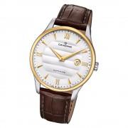 Candino Herren Armbanduhr Classic Timeless C4640/1 Quarz Leder braun UC4640/1