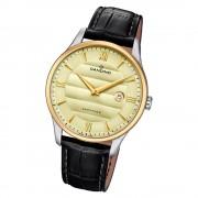 Candino Herren Armbanduhr Classic Timeless C4640/2 Quarz Leder schwarz UC4640/2