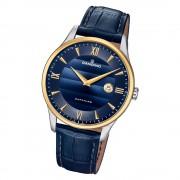 Candino Herren Armbanduhr Classic Timeless C4640/3 Quarz Leder blau UC4640/3