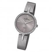 Candino Damen Armbanduhr Lady Elegance C4647/1 Quarz Edelstahl grau UC4647/1