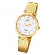 Candino Damen Armbanduhr Lady Elegance C4667/1 Quarz Edelstahl gold UC4667/1