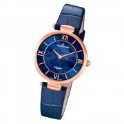Candino Damen Armband-Uhr Lady Elegance C4671/2 Quarzuhr Leder blau UC4671/2