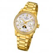 Candino Damen Armbanduhr Lady Elegance C4689/1 Quarz Edelstahl gold UC4689/1