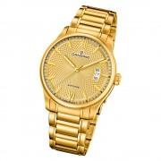 Candino Herren Armband-Uhr Classic Timeless C4692/2 Edelstahl gold UC4692/2
