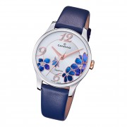 Candino Damen Armbanduhr Elegance C4720/5 Analog Leder dunkelblau UC4720/5