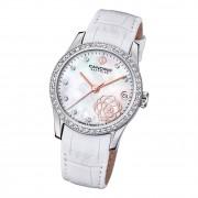 Candino Damen Armbanduhr Elegance C4721/1 Analog Leder weiß UC4721/1