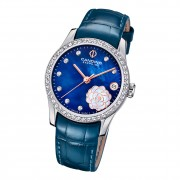 Candino Damen Armbanduhr Elegance C4721/3 Analog Leder marineblau UC4721/3