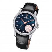 Candino Damen Armbanduhr Elegance C4721/4 Analog Leder schwarz UC4721/4