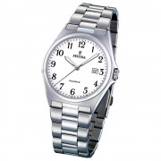 FESTINA Herren-Armbanduhr analog Quarz Edelstahl Klassik Uhr UF16374/1