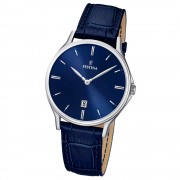 FESTINA Herren-Armbanduhr Klassik analog Quarz Leder UF16745/3